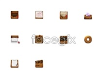 Wood small icons