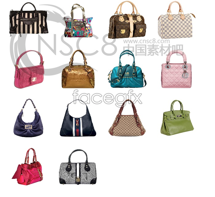Fashion LV bag bag computer icons