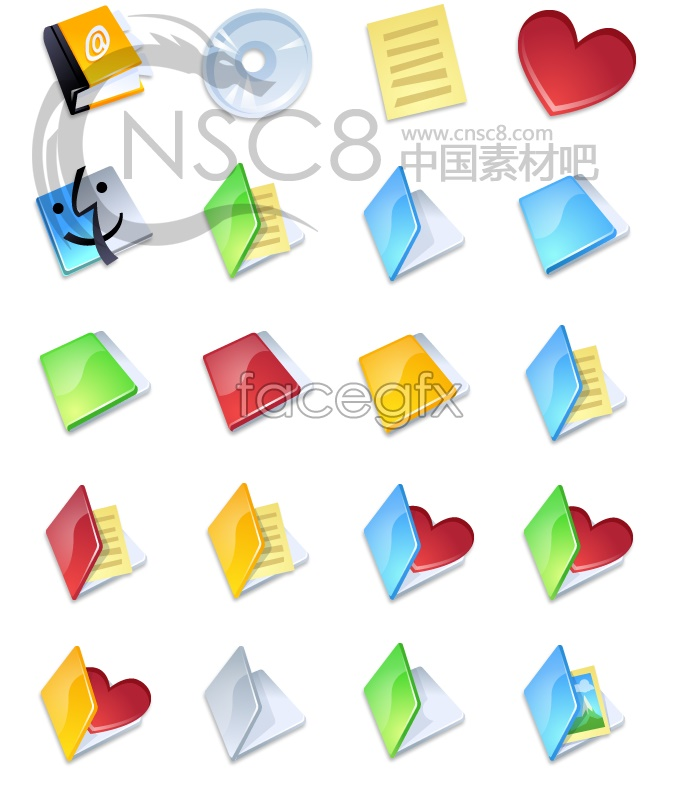 Gloss boutique folder icon