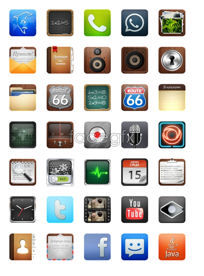 Simple mobile desktop icon