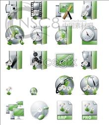 Green desktop icon