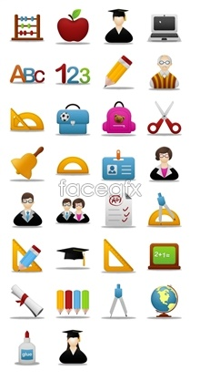 Learning tools icons