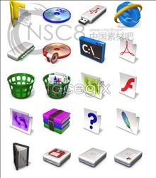 Vista system desktop icons
