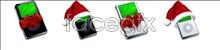 Christmas player icon