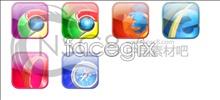 Web browser, a desktop icon
