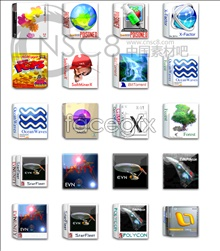 Books-box software icons