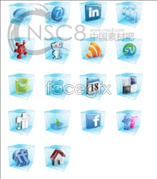 Clear Crystal software icons