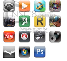 Software iPhone style icons
