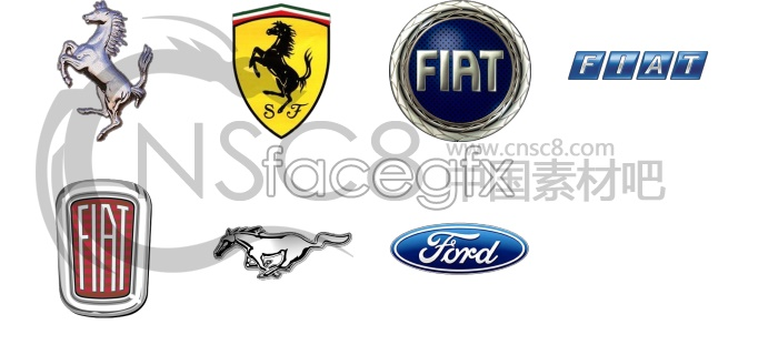 Car flag icons