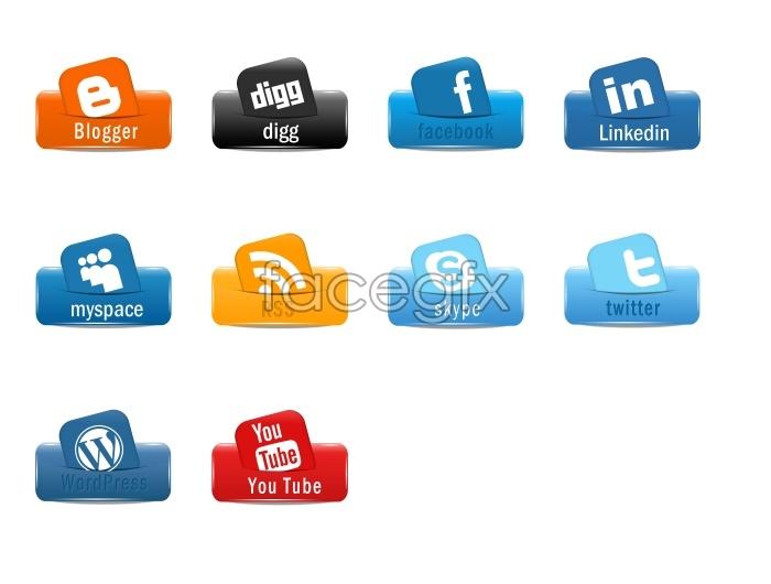 Creative LOGO design icons