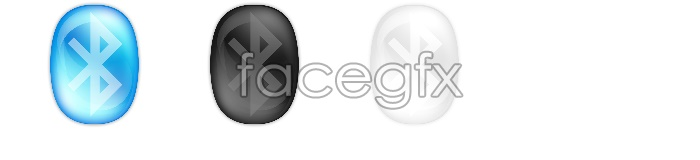 Crystal Bluetooth icons