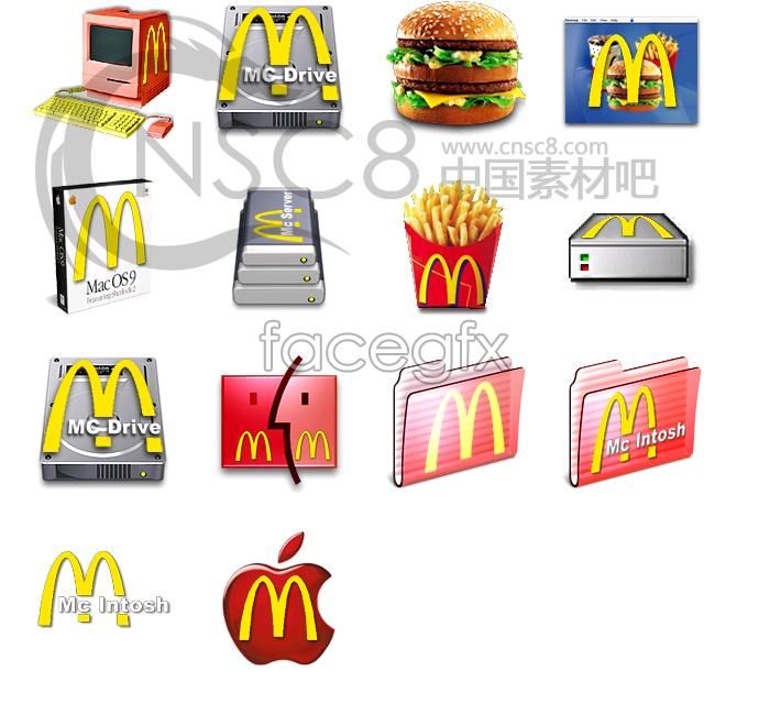 McDonald's icons