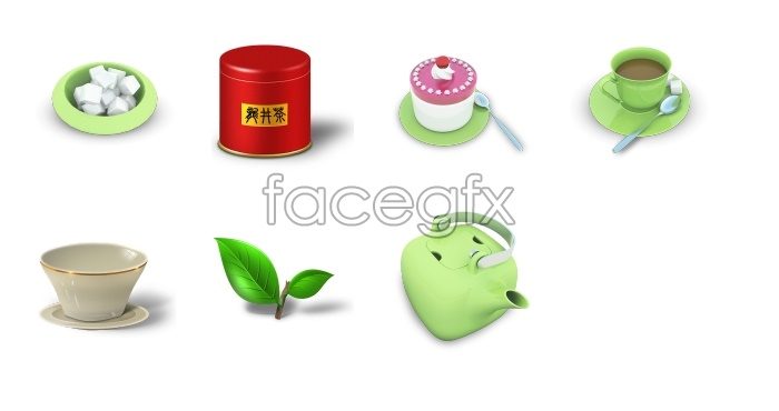 Tea ceremony tools computer icons