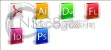 Web design software for desktop icons