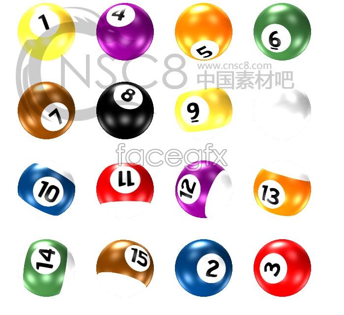 Beautiful billiards desktop icon