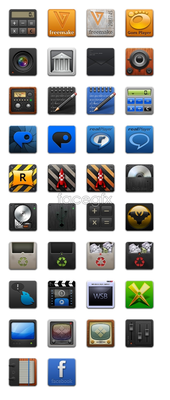 Cell phone transparent icon material