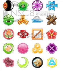 Brightening mark icons