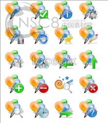 Balloon labels desktop icons
