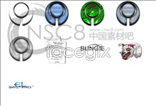Hazy shades series icons
