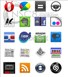 Millet phone desktop icons
