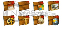 Briefcase folder icons