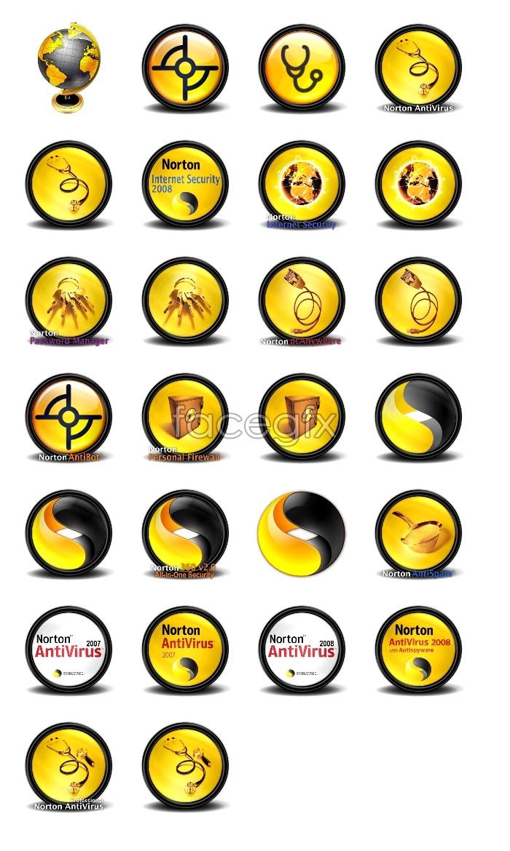 Yellow design computer icons