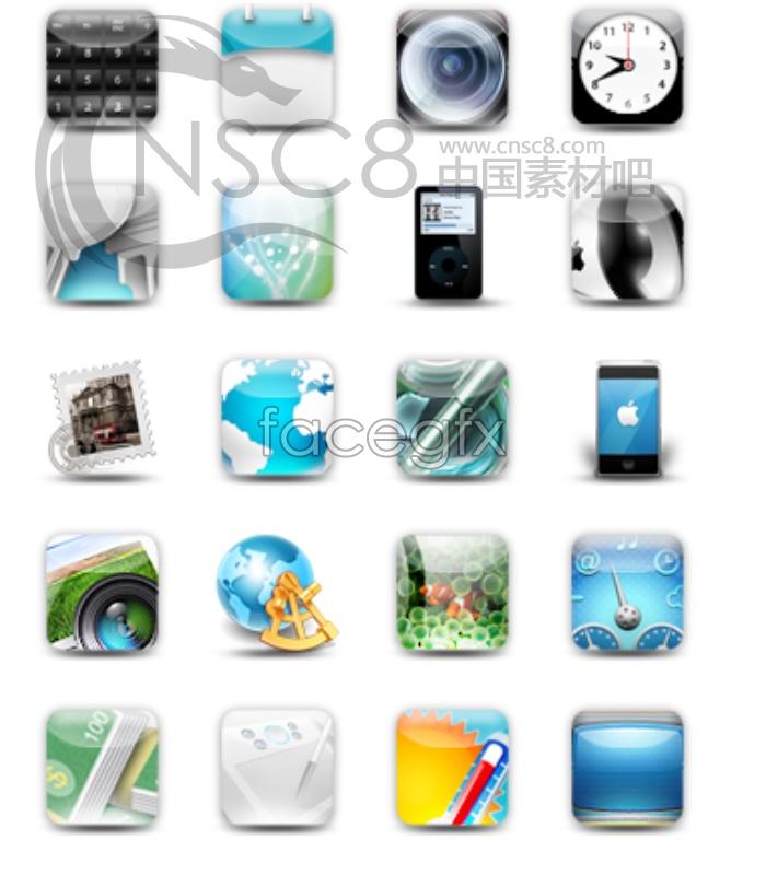 Crystal cell phone desktop