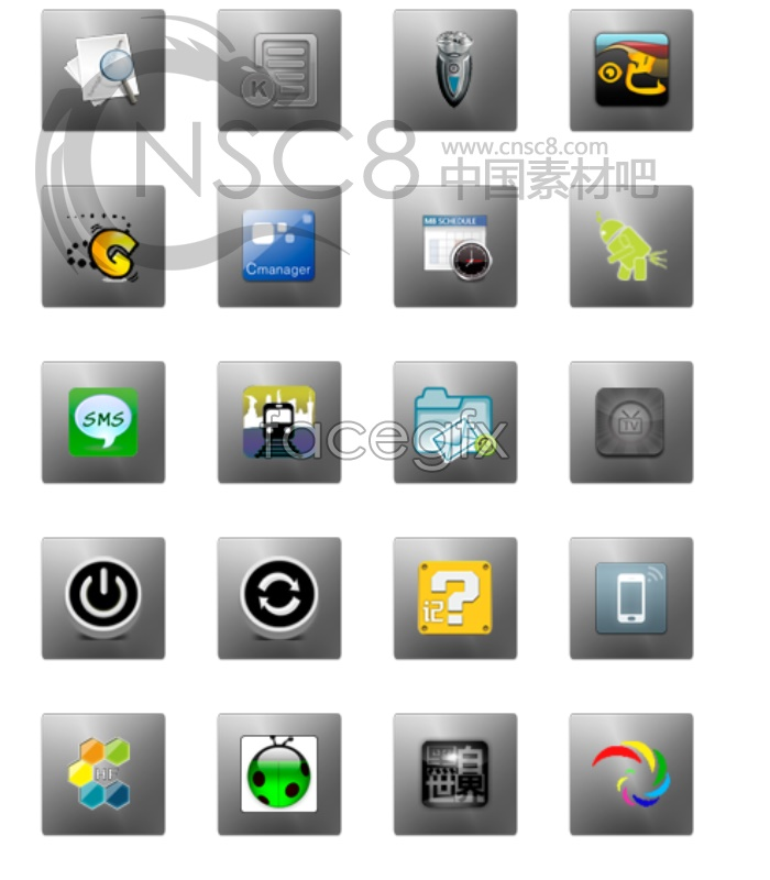 Transparent icon themes