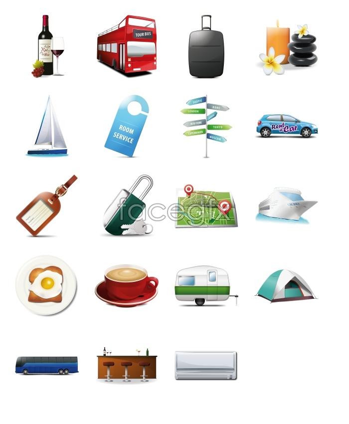 Travel travel tools icon