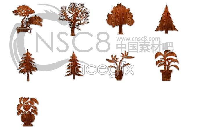 Trees remove desktop icon