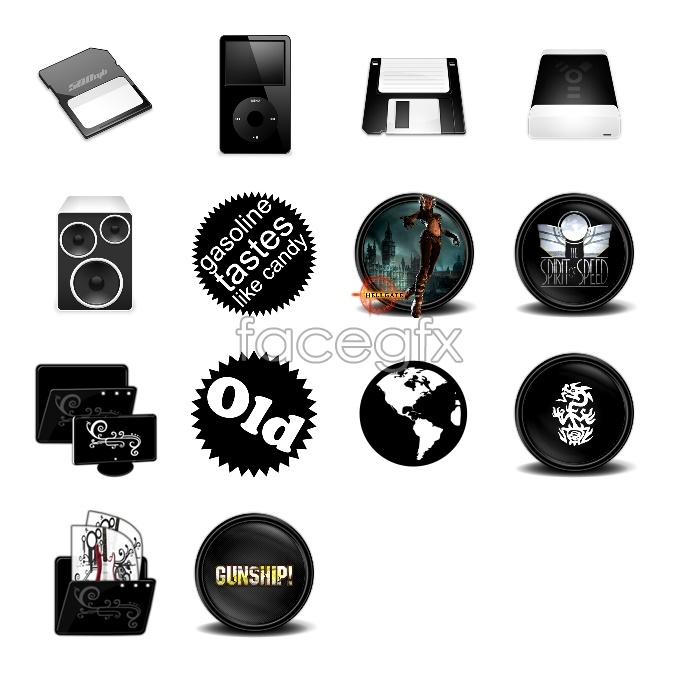 Black Beauty PC icons