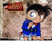 Detective Conan PSD cartoon