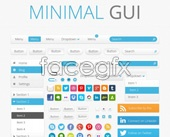 Minimal Gui interface psd