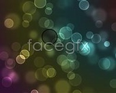 Fuzzy dots background PSD