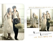 Romance wedding PSD fashion footage