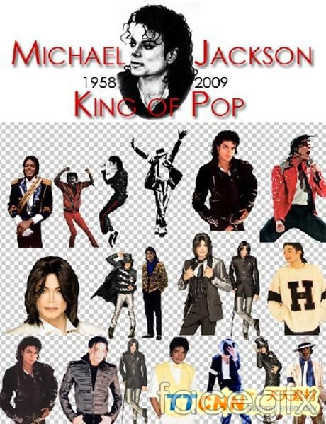 Michael Jackson photo PSD