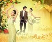 Wedding Photo Studio template lover PSD