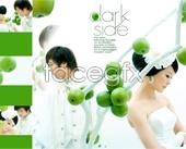 Love wedding album PSD templates
