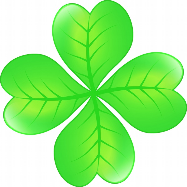 Four-leaf clover PSD