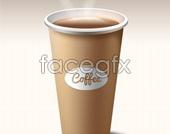 Coffee cup design PSD