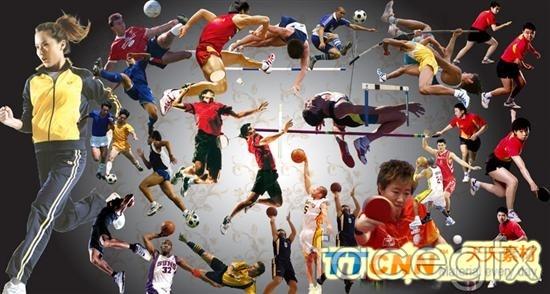 Famous sports figure PSD  sets