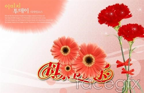 Happy Mother's day Thanksgiving holiday footage PSD