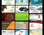 Wonderful works for free business card template hierarchy PSD