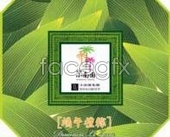 Dragon bamboo packaging design small South Park PSD