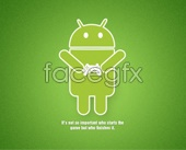 Android robot PSD icon