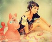 Make old photo effect PSD