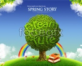 Green dream world PSD environmental protection
