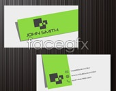Simple personal business card PSD