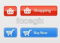 Free Download Buttons PSD