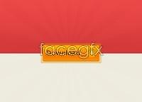 Orange Download Button
